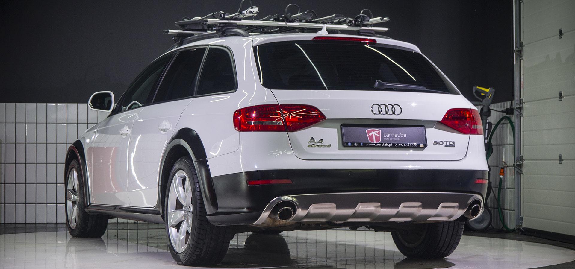 Audi A4 Allroad - po myciu