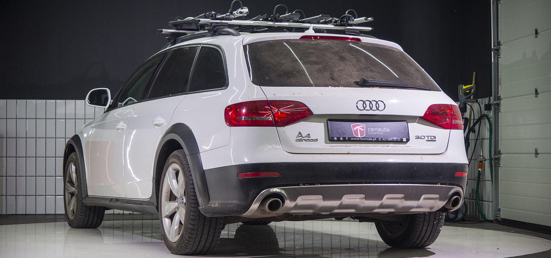 Audi A4 Allroad - przed myciem